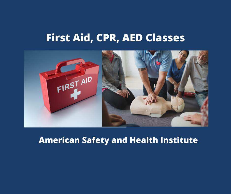 First Aid CPR AED Classes 2